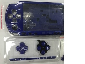 Image 2 - Blue Color for PSP 2000 PSP2000 Game Console replacement full housing shell cover case with buttons kit