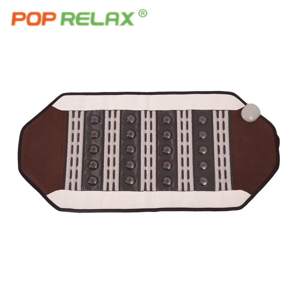 POP RELAX tourmaline ceramic maifan stone mat health care far infrared physiotherapy thermal CERAGEM nuga best similar mattress himabm 1 pieces sericite biotite tourmaline maifan stone guasha board health care thin face slimming skin care treatment