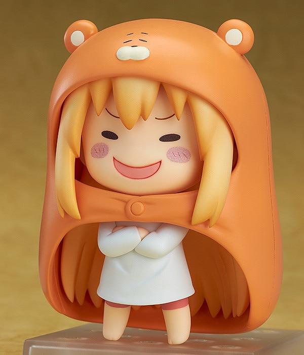 Nendoroid 524 Lolita Sankaku Head Himouto! Umaru-chan Umaru Figure Doma MARMOT Hamsters 10CM Model Action Figures Pvc Rinquedo
