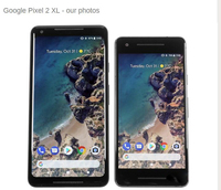 Original Unlocked EU version Google Pixel 2 XL 4G LTE 6.0inch Mobile Phone Octa Core 4GB RAM 64GB/128GB ROM 1440x2880 Smartphone
