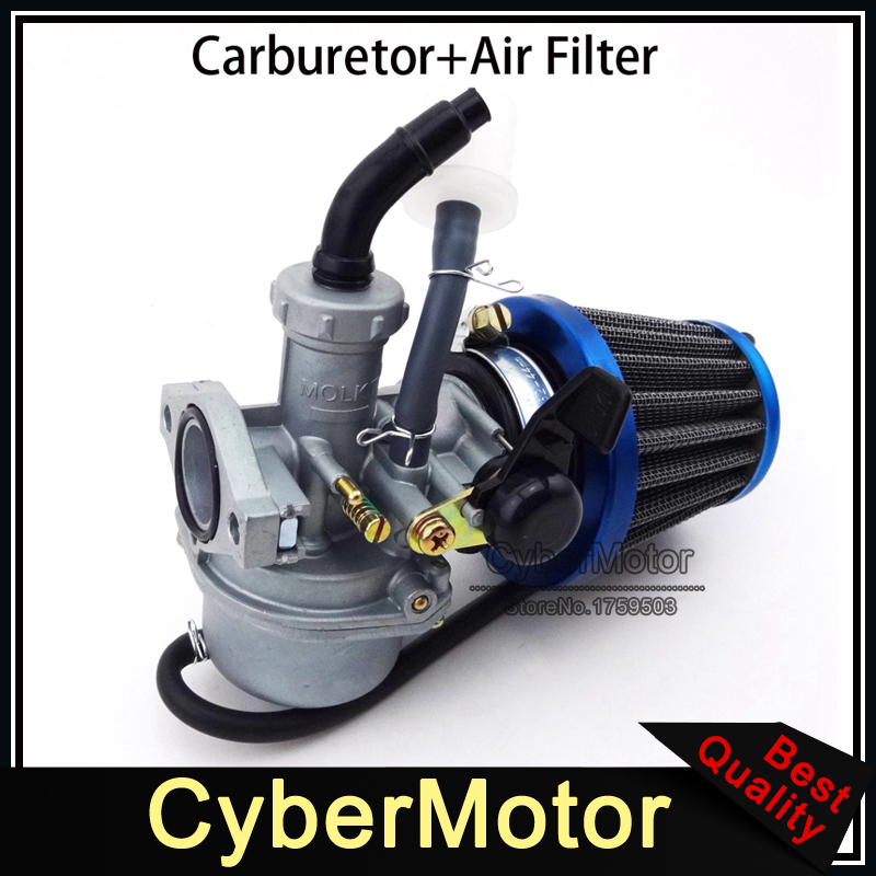 US $25 99 5% OFF|22mm Carburetor PZ22 Carb 38mm Air Filter For 110cc 125cc  Engine Chinese ATV Quad Go Kart Pit Pro Dirt Trail Bike Motorcycle-in