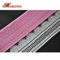 2014 Newest Cake Decor Lace Mat Fondant Art Lace Mould Silicone Sugar Art Tools Free Shipping