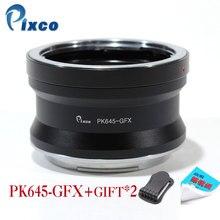 Pixco PK645-GFX Lens Adapter Suit for Pentax 645 Lens to Fujifilm G-Mount GFX Mirrorless Digital Camera such as GFX 50S