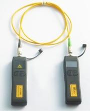 2 で 1 ftth光ミニファイバ光パワーメータ 70 〜 + 6dBmと 5 キロ 1 5mwの視覚障害ロケータ光テスター