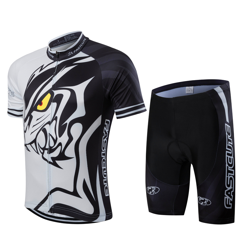FASTCUTE Pro Cycling Jersey Ropa Ciclismo Hombre Verano 2018 Mountain Bike Clothing Summer Cool Sportswear Short Sets For
