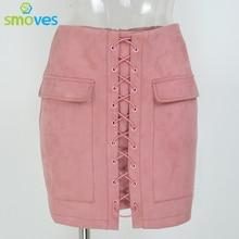 New Design High Waist External Pocket Skirt