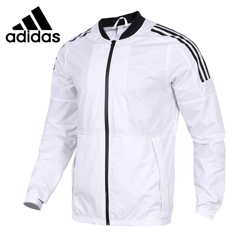 Original New Arrival 2018 Adidas Neo Label M WB SHL Men's jacket Hooded Sportswear original new arrival official adidas neo label m 2 layer wb men s jacket hooded sportswear