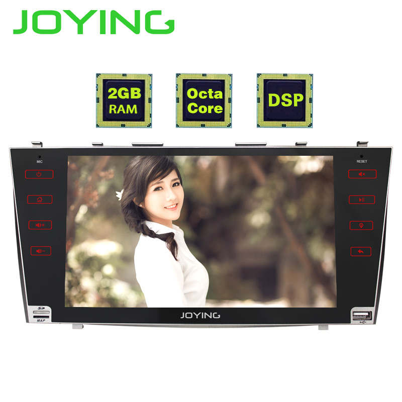 JOYING 2GB RAM Android 8 1 Car stereo BT Radio player for TOYOTA CAMRY touch Screen