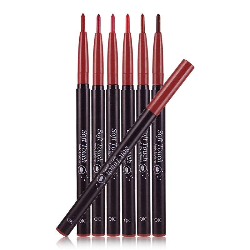 6 Couleurs Dessin Stylo Crayon à Lèvres à Lèvres Maquillage