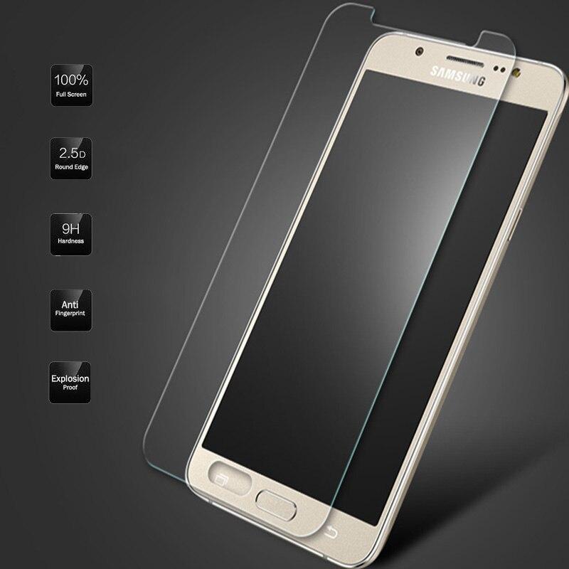For Samsung Galaxy J5 J7 J1 2016 2015 Grand Prime S5 Neo G903F S4 S6 Premium 9H Tempered Glass Screen Protector Film Cover Film