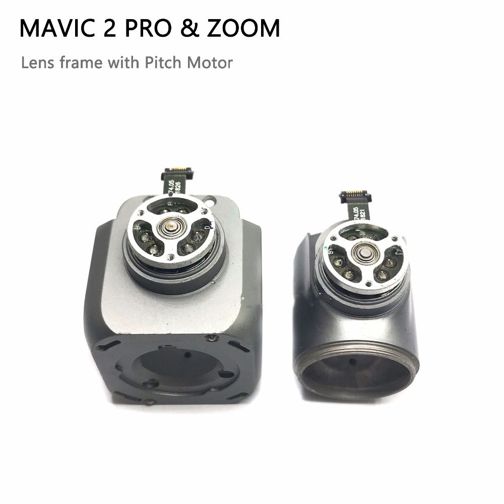 Original Mavic 2 Repair Parts Lens Frame with Pitch Motor for DJI Mavic 2 Pro Zoom