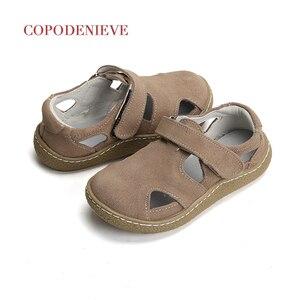 Image 5 - COPODENIEVE dziecięce sandały chłopięce chłopięce sandały maluch sandały dziecięce sandały dziewczęce buty dla małego dziecka chłopcy dziewczęta oryginalne skórzane buty