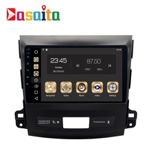 Car 2 din GPS for Mitsubishi Outlander 9 inch screen radio navigation head unit multimedia 4Gb+32Gb 64bit Android 8.0 PX5 8-Core