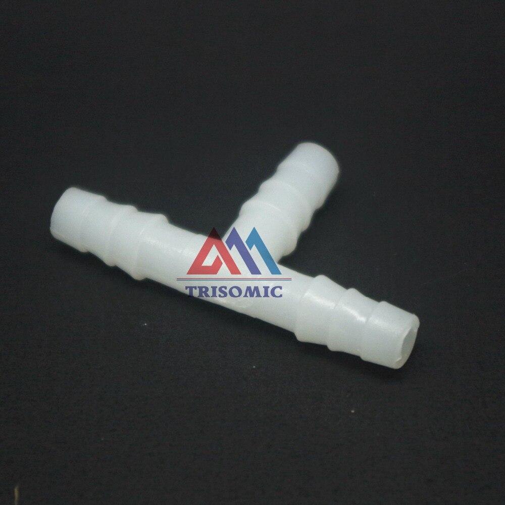 Sanitär Zielstrebig 12 Stücke 6mm T Tpye Equant Stecker Gleich Rohr Joiner Material Pe Kunststoff Montage Aquarium Airline Aquarium Heller Glanz