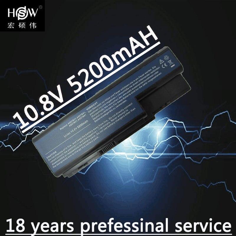 HSW Batterie 6 cellules AS07B31 AS07B41 AS07B51 AS07B61 AS07B71 AS07B72 AS07B42 Pour Acer Aspire 5230 5235 5310 5315 5330 5520 5530