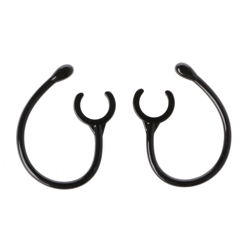 OOTDTY 4 Pairs Replacement 10.5mm Earhook Loop Clip For Bluetooth Headphone Earphone