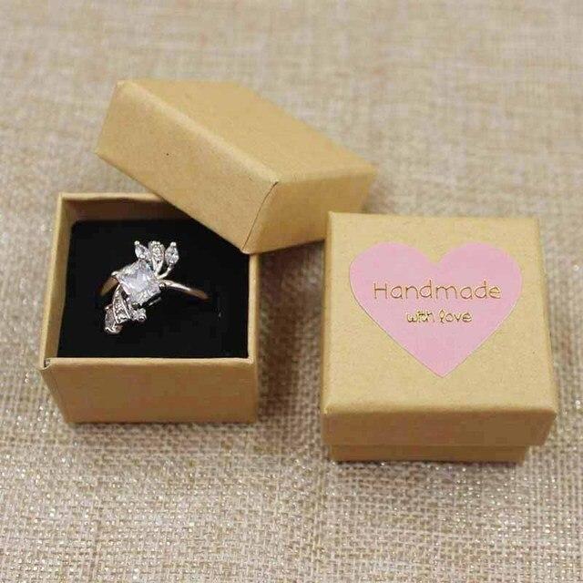 10PCS per lot Multicolor cute Jewelry Box Ring box blackpinkbeige