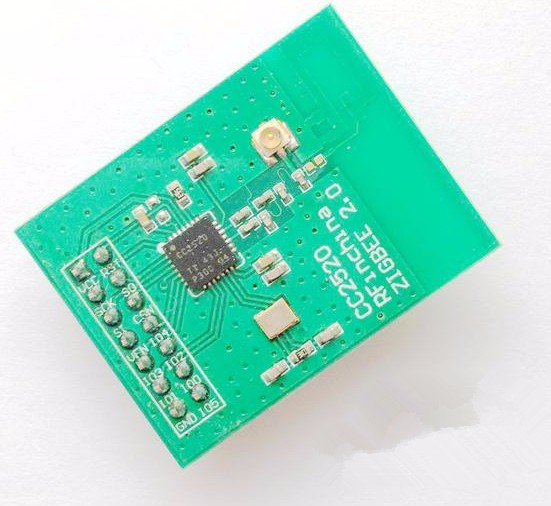 цена на For ZIGBEE wireless networking module 2.4GHZ CC2520 wireless data transmission module PCB with antenna Development Board