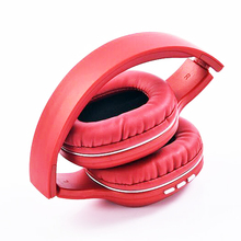 NVAHVA Folding Bluetooth Headset Wireless Headphone For Phones PC TV Electronic Card MP3 Earphone with Hands-free MIC AUX Cable