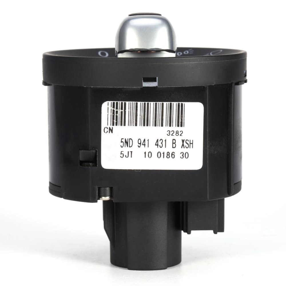 Phare antibrouillard interrupteur de commande accessoires de voiture de remplacement pour Golf Jetta MK5 MK6 GTI Passat B6 B7 CC Touran Tiguan Chrome