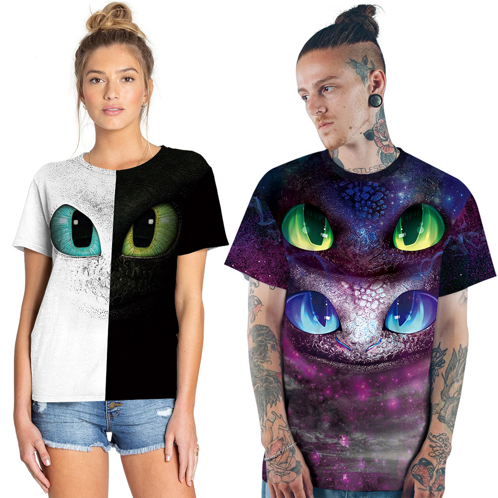 How To Train Your Dragon Cartoon Tees Cosplay Costume Toothless T-shirt  Men Tops 3D T Shirt Summer Black White Clothes Tshirt