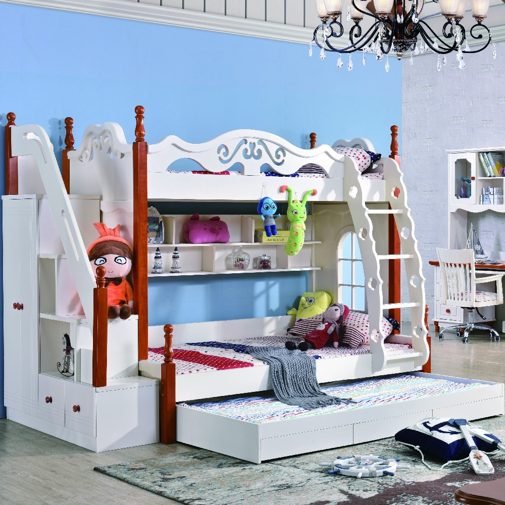 US $1090.0 |Children bedroom furniture modern bunk bed-in Bedroom Sets from  Furniture on Aliexpress.com | Alibaba Group