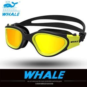 Image 4 - Water Glasses Professional Swimming Goggles Adults Waterproof Swim Uv Anti Fog Adjustable Glasses Oculos Espelhado Pool Glasses