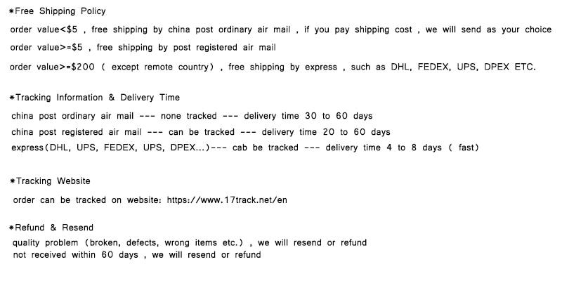 order shipment