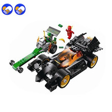 A toy A dream Batman Bela 10227 DC Comics The Riddler Chase The Flash Super Heroes DIY Building Blocks Legoingly(China)