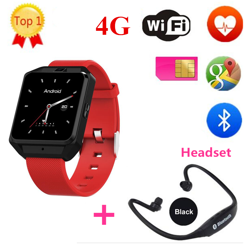 2018 New Arrival M5 4G Smart Watch with Android 6.0 WCDMA WiFi Bluetooth SmartWatch GPS 1.54 Display similar as Huawei watch