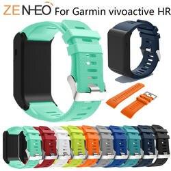 Спортивный ремешок для часов Garmin Vivoactive HR ремешок на запястье для Garmin Vivoactive HR силиконовый браслет для Garmin Vivoactive hr