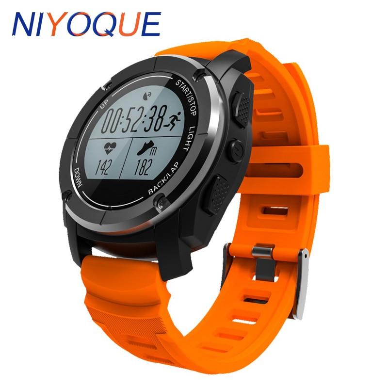 S928 GPS Outdoor Sports Smart Watch IP66 Life Waterproof  Fitness Tracker Sleep Tracker Smartwatch For Android 4.3 IOS 8.0 Above smart baby watch q60s детские часы с gps голубые