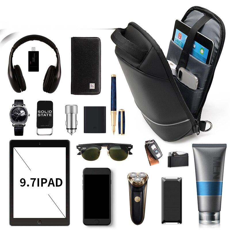 Water Repellent Crossbody Bag 5