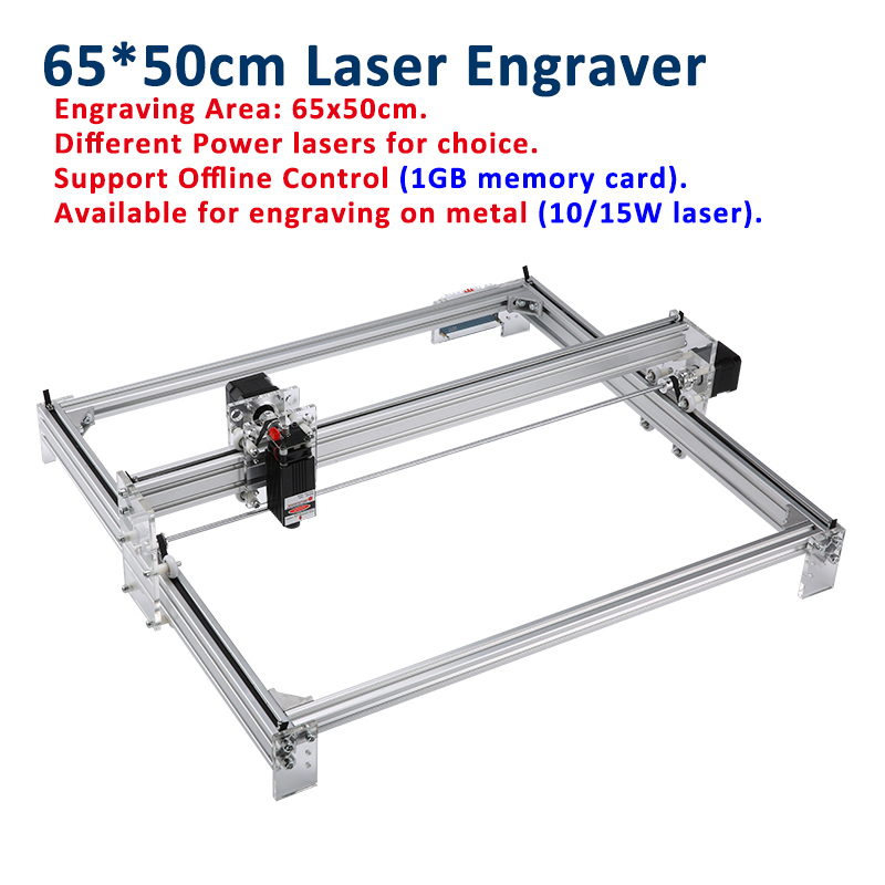 Mini Laser Engraving CNC Machine Made Of Aluminum alloy and Acrylic Frame Material for Wood 7