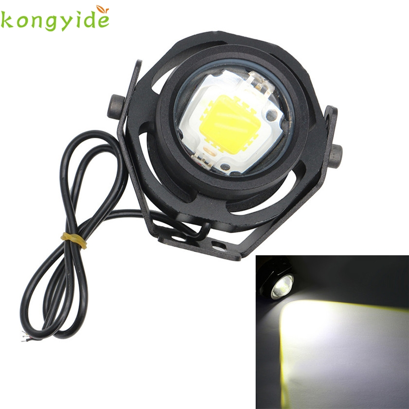 Новый 1 пара 10Вт 1000ЛМ света автомобиля DRL орлиный глаз светодиодные Противотуманные фары дневного света автомобиль аксессуары автомобиль-стайлинг Лампа