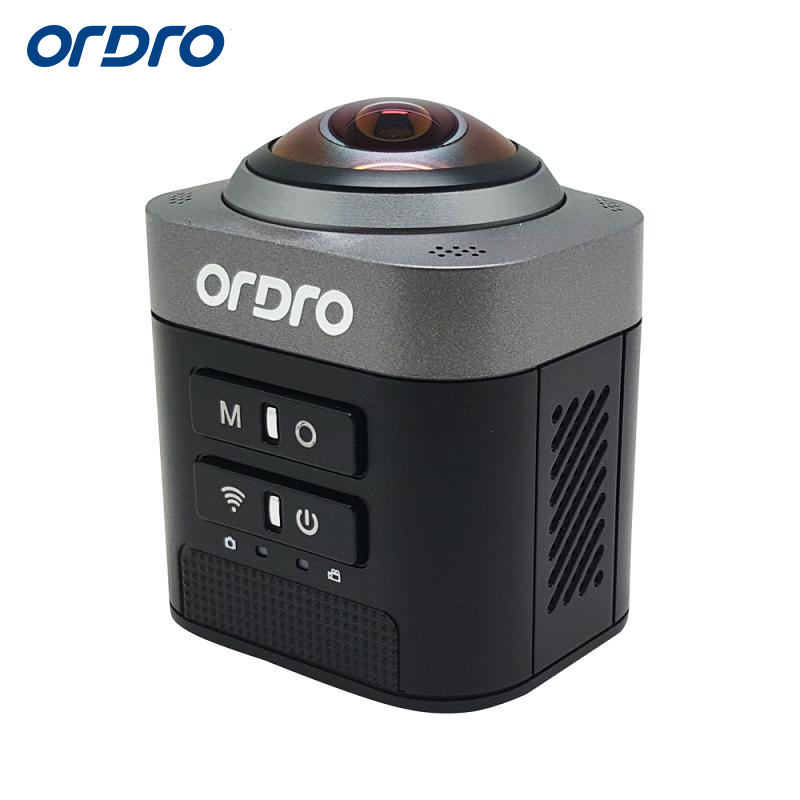 Ordro Official Store Ordro 360 Degree Full View Camcorder D5 1080p FHD Portable Digital Video Camera WIFI Loop Video Recording HDMI Output