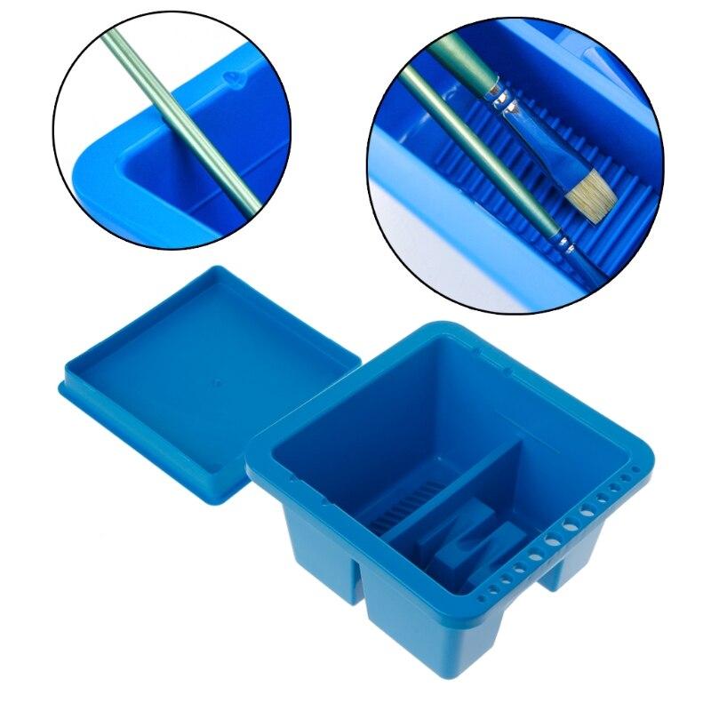 Art Supplies Brush Washing  Multifunction Pen Barrel Painting Brush Washer For Drawing