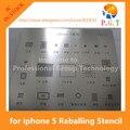 Kit bga stencil reballing dedicar para iphone 5 5s 5c 6