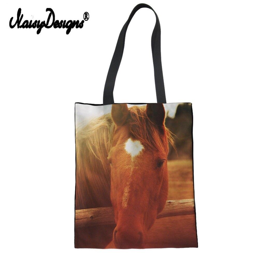 Funny Tote BagsCrazy Dog Lady Canvas Shoulder Shopper Bag