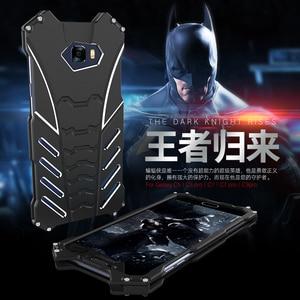 Image 3 - BatMan Luxury Cool กรณีการออกแบบสำหรับ Samsung Galaxy C5 C7 โทรศัพท์มือถือกันกระแทก Kickstand สำหรับ C5 pro C7 pro C9pro