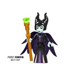Legoing Friends фигурки принцесс игрушки F022 MALEFCENT принцесса девочки Maleficent друг для серии строительные блоки Diy Кирпичи подарок