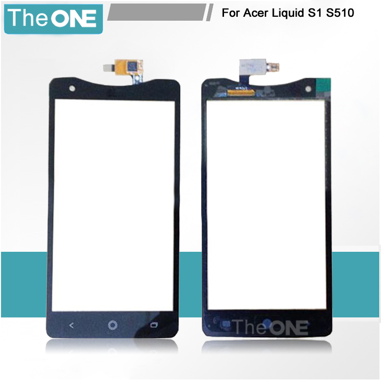 ФОТО Free DHL Shipping For Acer Liquid S1 S510 5.7'' Black Touch Screen Digitizer Front Panel