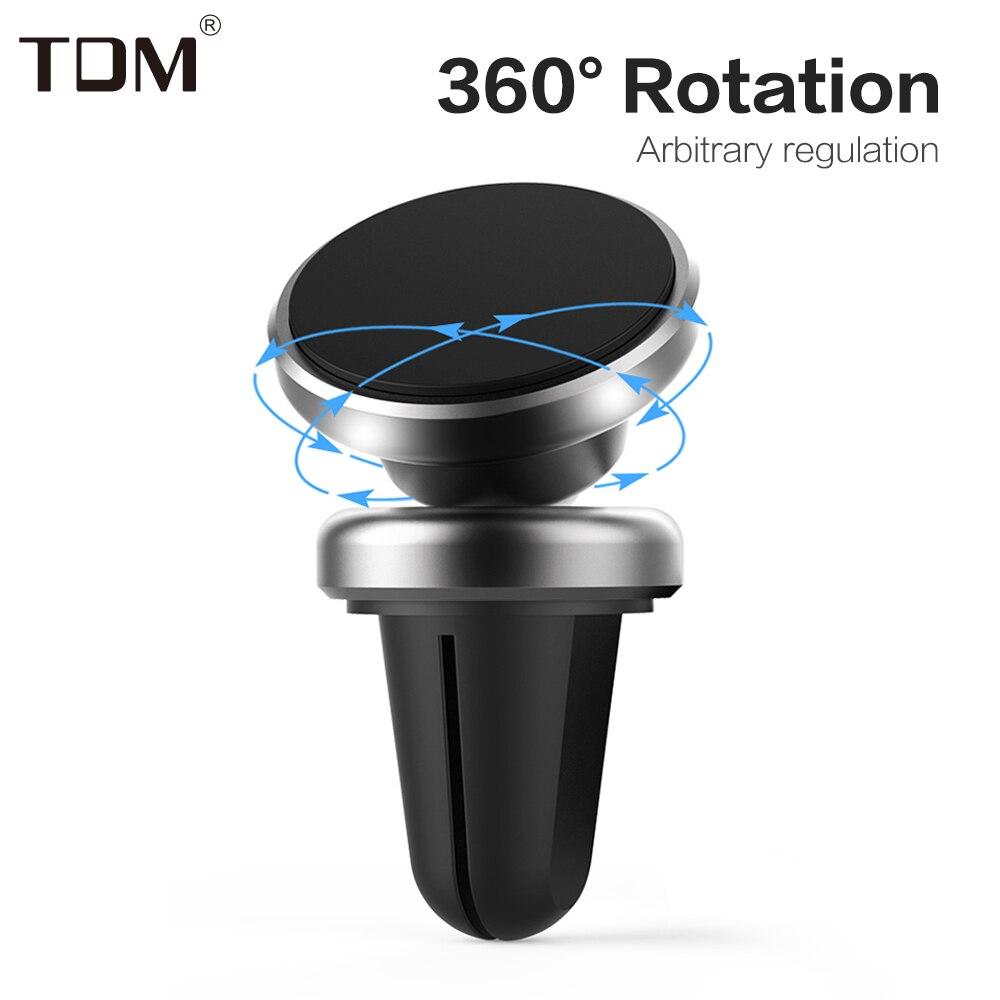 Universal Rotation Magnetic Car Phone Holder Mobile Car Holder Magnetic Car GPS