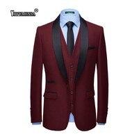 yiwumensa Smoking Costume Homme Mariage Tuxedo Suits Custom Made Slim Fit Wedding Suits For Men Groom Men Suits 2018 Traje Novio