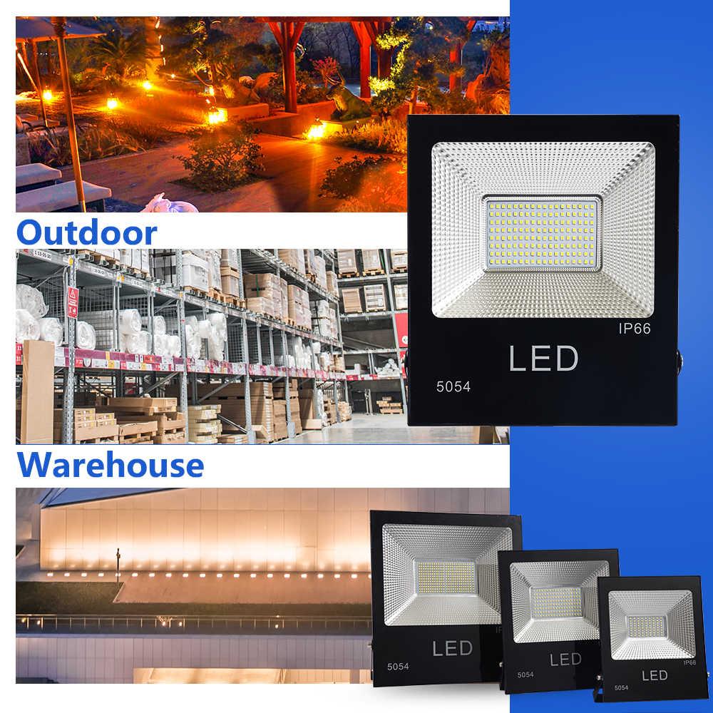 LUCKYLED Led Reflector 20W 50W 100W 150W AC 220V 230V Led Floodlight Outdoor Spotlight Waterproof Flood Light Wall lamp