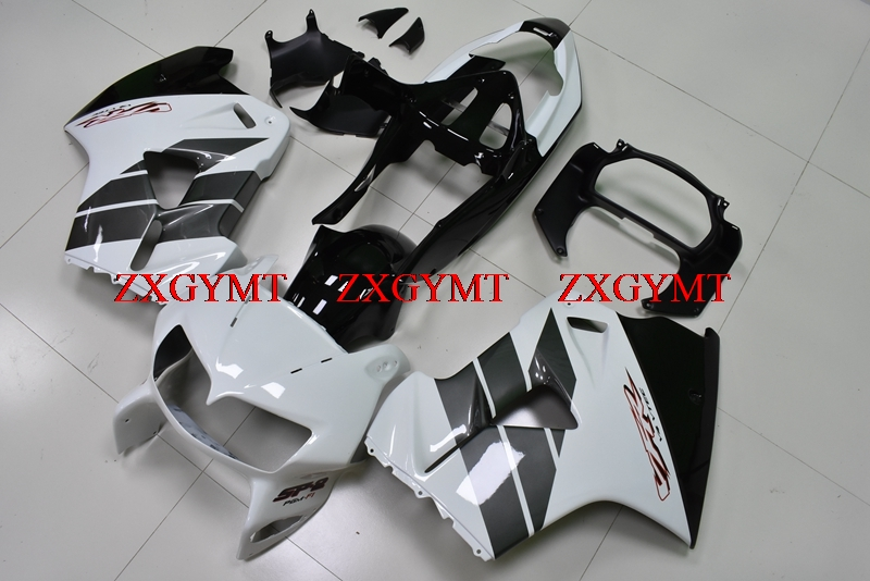 Fairings for for Honda VFR800 1998 - 2001 Fairings VFR800 2000 Black White Plastic Fairings VFR800 1998Fairings for for Honda VFR800 1998 - 2001 Fairings VFR800 2000 Black White Plastic Fairings VFR800 1998