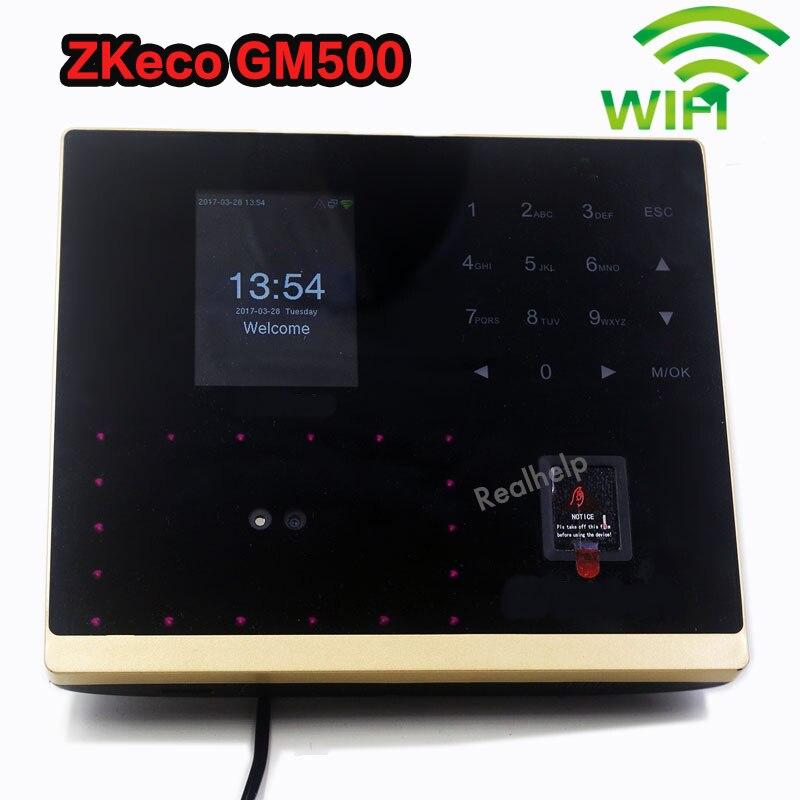 ZK GM500 Биометрические лица рабочего времени Системы с доступом Управление TCP/IP лицо и Фингерпринта автономный двери