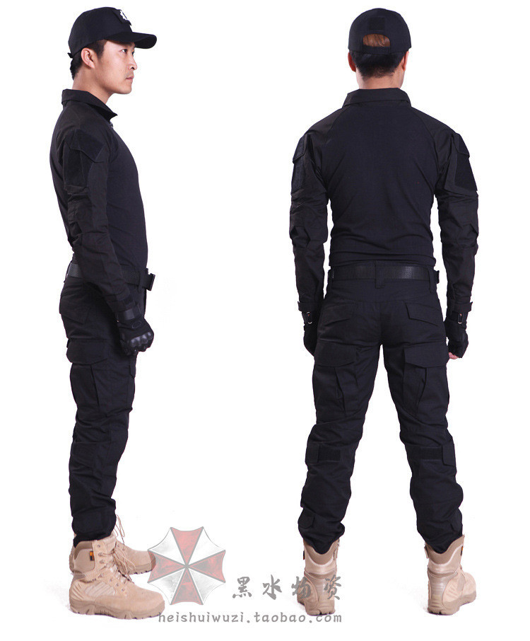 military uniform tactical camouflage combat suits tight clan CS field jacket suits clothes airsoft adults cs field game skeleton warrior skull paintball mask