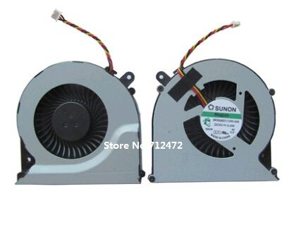 SSEA New Laptop CPU Cooling Fan 3 pin For Toshiba Satellite C850 C855 C870 C875 L850 L870 L850D L870D fan MF60090V1-C450-G99 image