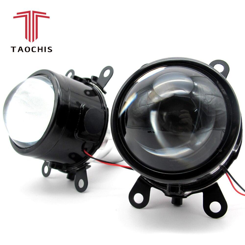 TAOC Здравствуйте S M6 2,5 дюймовый Биксеноновая Здравствуйте D Авто-укладки Противотуманные фары объектив проектора Здравствуйте/Lo Универсаль...